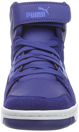 Puma Unisex-Kinder Rebound Street Sd High-Top Blau (Mazarine Blue-Gray Violet 11)
