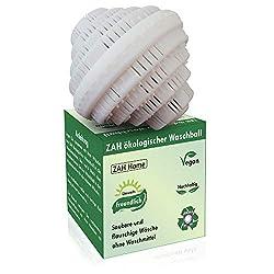ZAH ökologischer Waschball, Saubere Wäsche ohne Waschmittel, Waschmittel für Allergiker, Waschkugel, Bio Waschball, Vegan Bio Waschmittel, Nachhaltige Produkte, Ökologische Geschenke, Vegane Geschenke