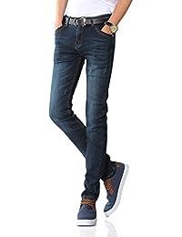 Demon&Hunter 808 Séries Hommes Maigre Svelte Jeans
