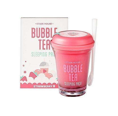 Etude House bubble tea sleeping pack (100g) (Strawberry Tea)