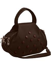 TAP FASHION Fancy Stylish Elegant Women's Cross Body Sling Bag With French Studs.