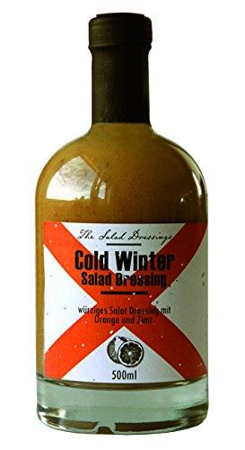 Cold Winter Salad Dressing (500ml) – Salatdressing für Feinschmecker – Orangen-Salatdressing mit Gewürzen und Pinienkernen – Feuer & Glas (Gin Und Orangensaft)