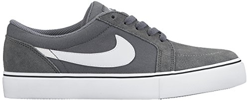 Nike Satire Ii Gs, Baskets Basses Mixte Enfant, Noir Gris (Cool Grey/White/Black)