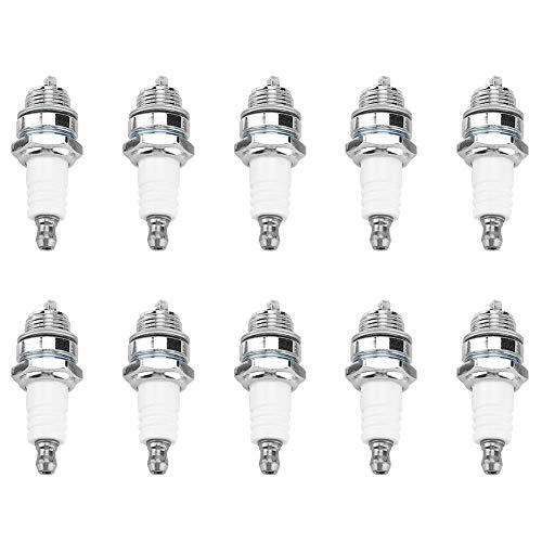 DEWIN Decespugliatore Spark Plug-Candele Decespugliatore Trimmer Chain Saw Accessori di Ricambio 10Pz