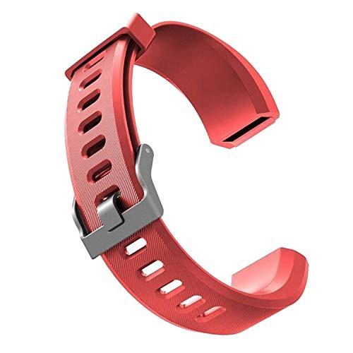 Sopear Ersatzarmband für fitness tracker ID115 HR Plus| Antimi Fitness Armband | | YG5 PLUS HR | YAMAY Fitness Armband | CHEREEKI Fitness Tracker Farbdisplay & viele weitere Modelle aus hautfreundlichem TPU & nickelfreiem Verschluss
