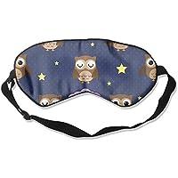 Comfortable Sleep Eyes Masks Night Owl Pattern Sleeping Mask For Travelling, Night Noon Nap, Mediation Or Yoga preisvergleich bei billige-tabletten.eu