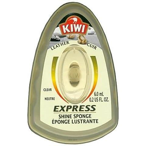 Kiwi Neutral Express - Esponja abrillantadora para calzado, 6 ml, 3 unidades