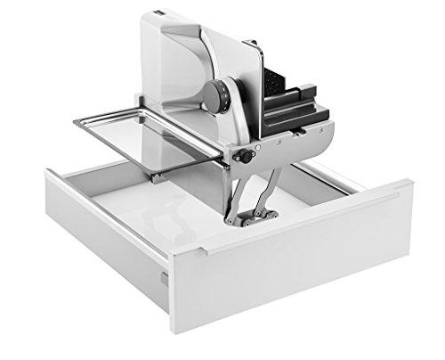 Preisvergleich Produktbild Ritter Metall-Einbau-Allesschneider AES 62 SL-H, silbermetallic, links, 1 Stück, 544005