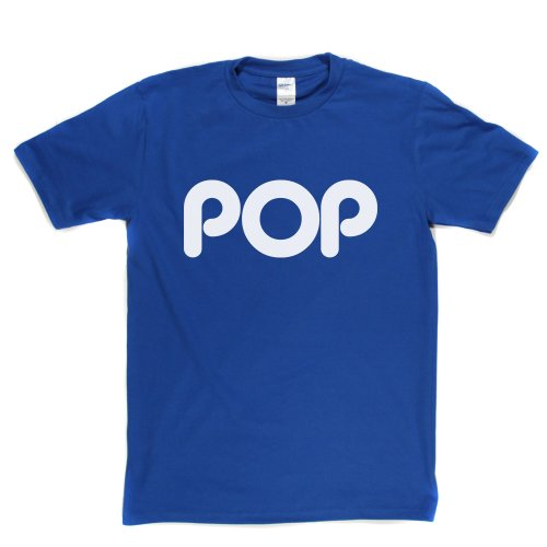 POP Music Genre Tee Kids Teens Teenagers Fan Tee T-shirt Königsblau