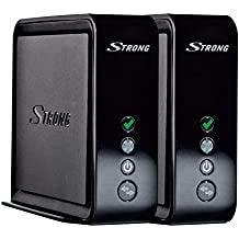 Strong Connection Kit 1700 - Repetidor de red (10/100/1000 Base-T(X), 802.11n/ac/n), color negro