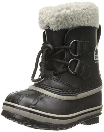 Sorel Unisex-Kinder Childrens Yoot Pac Tp Schneestiefel, Schwarz (Black), 26 EU (Sorel Kids Boot Yoot Pac)