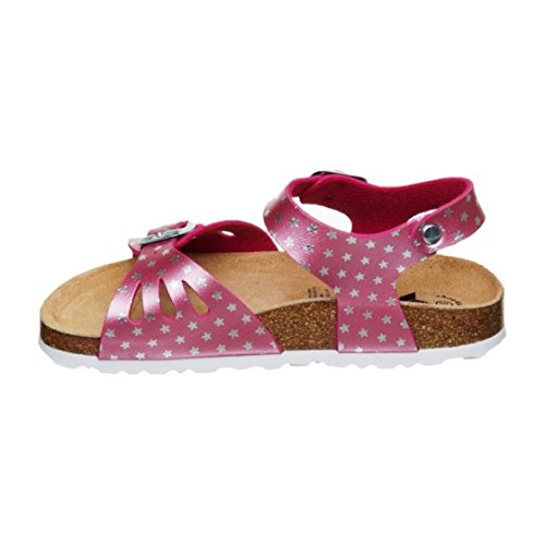 Lico Bioline Sandal, Chaussons Bas Femme Pink (PINK/SILBER)