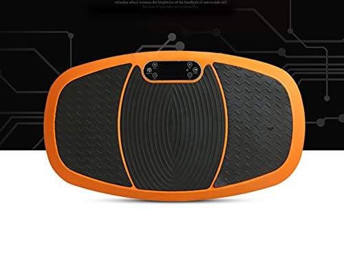 JLWDD Vibrationsplatte mit 3D Wipp Vibrations Technologie, Ganzkörper Trainingsgerät mit 2x200W Motoren, Bluetooth Musik + Riesige Fläche + Fernbedienungrofi