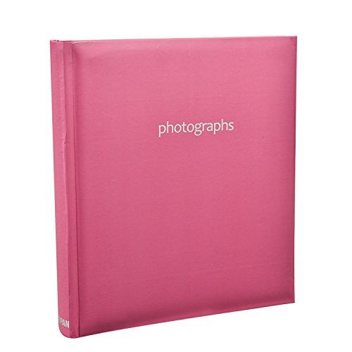 Arpan Grande Memo slittamento pastello rosa caldo In rilegati Photo Album per 120 5x7 Foto