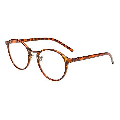 Domybest Cat Eye Brillen Optische Glasse Frame Brillen Short Sight Glasses (C)