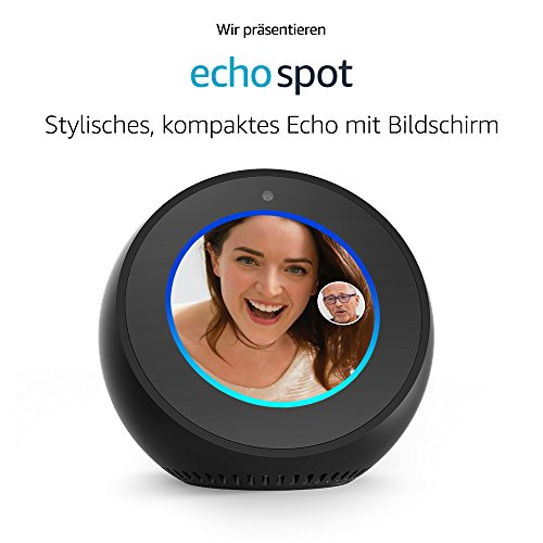 Amazon Echo Spot – Schwarz