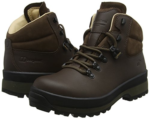 Berghaus Women's Explorer Active M Gore-Tex Walking Boots High Rise Hiking, Brown (Dark Brown Dc2), 6 UK 39.5 EU