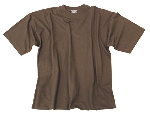 US T-Shirt, halbarm, oliv, Größe XXL (Oliv-grünes T-shirt)