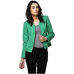 Yepme Ertina Casual Blazer - Green -- YPMBLZR5006_M