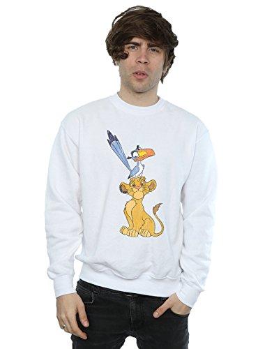 Disney Men's The Lion King Simba and Zazu Sweatshirt