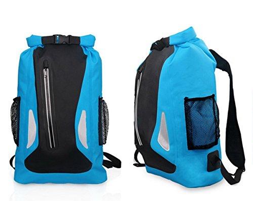 Imagen de acmebon  estanca unisex ligera impermeable bolsa de viaje de aventuras para actividades al aire libre como escalada,kayak,canotaje,piragüismo,pesca,rafting,baño azul 604 alternativa
