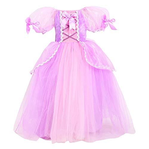 Liebe Kids Kleine Mädchen Prinzessin Flauschigen Kleid für Geburtstag Weihnachten Cosplay und Fancy ()