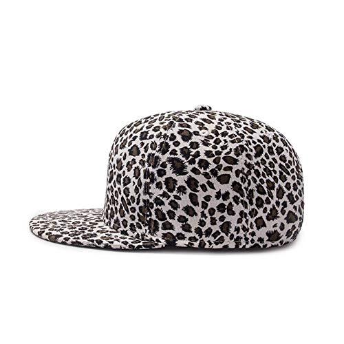 WXHXHW Cap Papa Cap Männer Baumwolle Leopard Baseball Cap Für Mädchen Mode Lässig Verstellbare Snapback Cap Street Unisex Leopard-visor