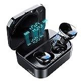 Auricolare Bluetooth,Cuffie Bluetooth 5.0 senza fili Mini Auricolari Sportivi In Ear Con Custodia da Ricarica Microfono
