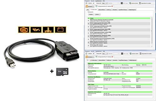 Preisvergleich Produktbild HS-Tools VAG Diagnosegerät Herstellerspezifische Volldiagnose VCD Codieren Service Reset bis 2018
