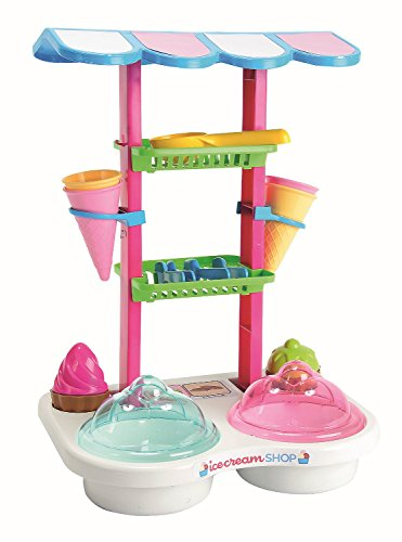 Simba 107102532 - Shop Eisdiele, Strandspielzeug (Sand Mädchen)