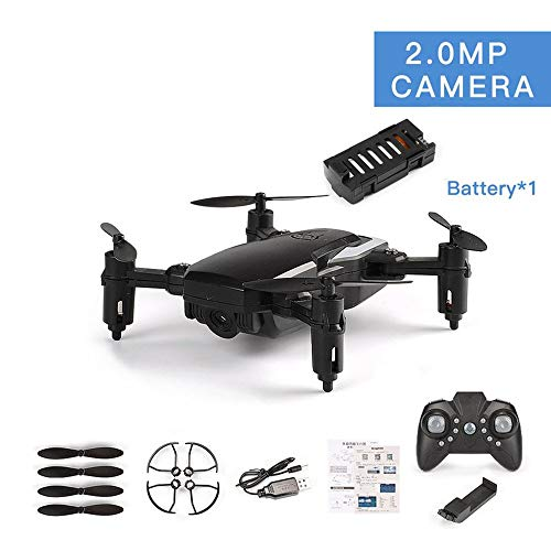Oyamihin LF606 Drone Mit 720 P Kamera FPV Quadrocopter Faltbare RC Drohnen HD H?he Halten Mini Drohne Kinder Kind Spielzeug RC Hubschrauber - Schwarz
