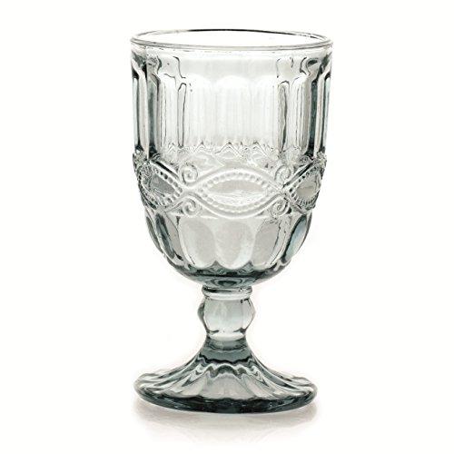 6er Set Weinkelch SOLANGE, transparent, 250 ml., mundgeblasen von TOGNANA
