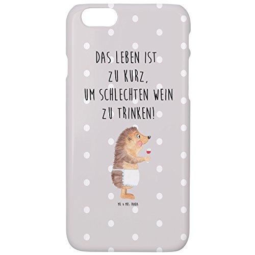 Mr. & Mrs. Panda Iphone 7 / 7S Handyhülle Igel mit Wein - 100% handmade in Norddeutschland - Iphone...