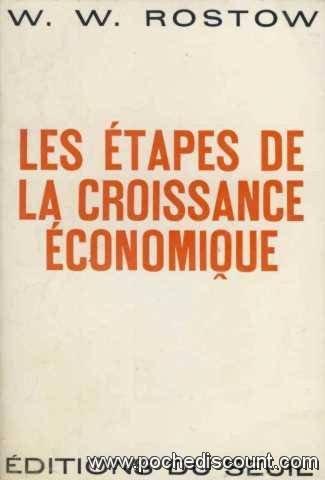 Etapes de la croissance economique (les) par Rostow Walt Whitman