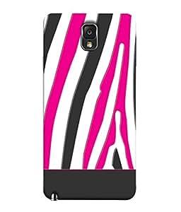 FUSON Designer Back Case Cover for Samsung Galaxy Note 3 :: Samsung Galaxy Note Iii :: Samsung Galaxy Note 3 N9002 :: Samsung Galaxy Note 3 N9000 N9005 (Curved Straignt Acrylic Texture Lines Oil Paint Bright)
