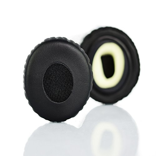 Accessory House Ersatz-Ohrpolster für Bose On-Ear 2 (OE2) und SoundTrue On-Ear (OE) Kopfhörer (Nicht kompatibel mit Bose Quietcomfort 3 (QC3) und Bose On-Ear 1 (OE1) Kopfhörer)