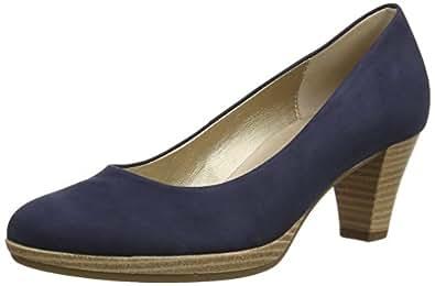 Gabor Rani N, Escarpins femme, Bleu (Dark Blue), 35.5