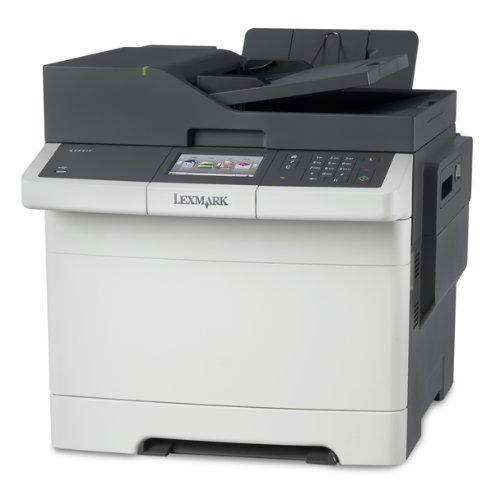 Lexmark CX410DE Multifunktionsgerät (Scanner, Kopierer, Drucker, Fax, 1200x1200 dpi, USB 2.0)