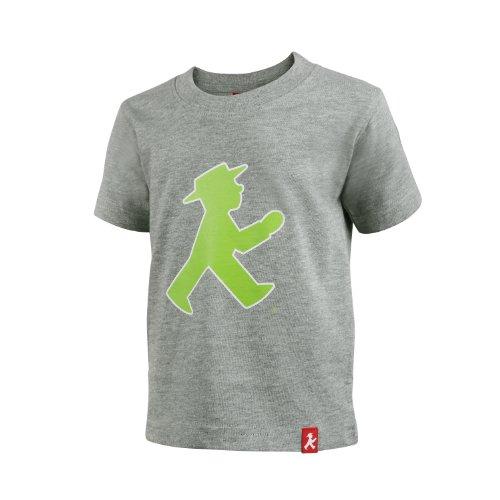 AMPELMANN T-Shirt Unisex - Prachtkerlchen Geher vorne grau meliert Grau