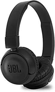 JBL T460BT Extra Bass Wireless On-Ear Headphones with 11 Hours Playtime & Mic (Bl