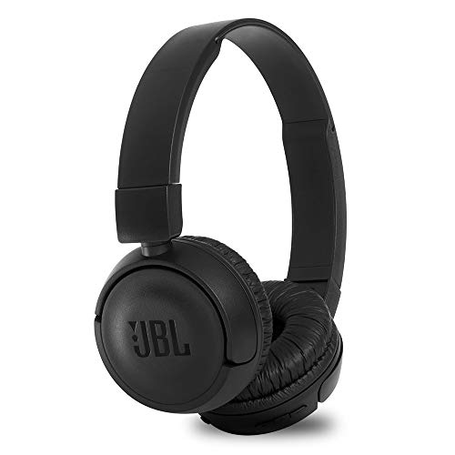 JBL T460BT Extra Bass Wireless On-Ear Headphones with Mic (Black)
