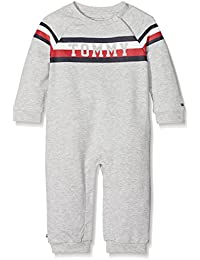 Tommy Hilfiger Bright Tommy Coverall L/S, Polaina para Bebés