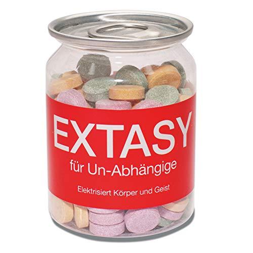 Preis am Stiel Extasy | Scherzartikel | Brausetabletten | Mitgebsel | Extasy Pillen -