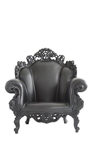 Magis Proust Sillón, 90x 104x 105cm, Color Negro Mate