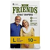 Friends Adult Diaper (Basic) – Large (10 Count)