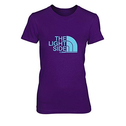 Maul Darth Ideen Kostüm (The Light Side - Damen T-Shirt, Größe: XL, Farbe:)