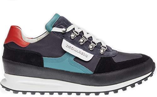 dsquared damen sneaker Dsquared² Unisex Schuhe Sneaker Dean Goes Hiking, Farbe: Schwarz, Größe: 45