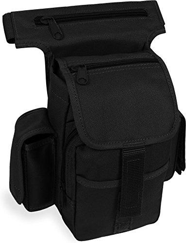 Multipack Hüfttasche Bauchtasche Nylon 1000 D Farbe Schwarz