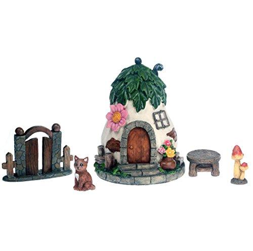 Fairy Gemüse Cottage 5teiliges Set für Feen, Elfen und Zwerge