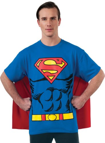 Superman T-Shirt für Herren, (T Kostüm Shirt Superman)